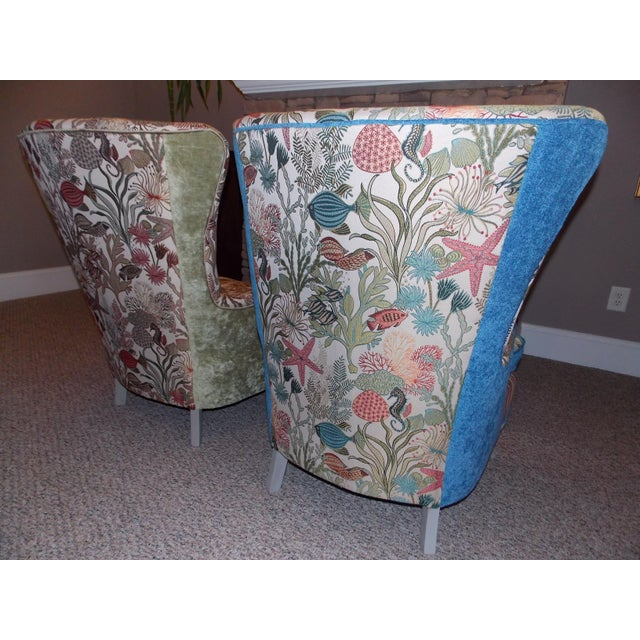 Mid-Century Outer Banks Armchairs - A Pair For Sale - Image 4 of 5