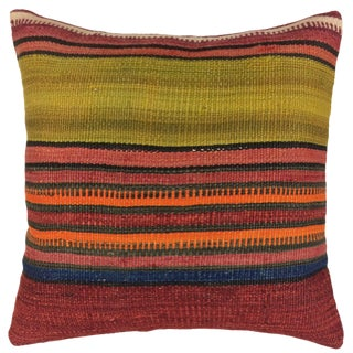 "Rug & Relic Kilim Pillow | 18"" For Sale"