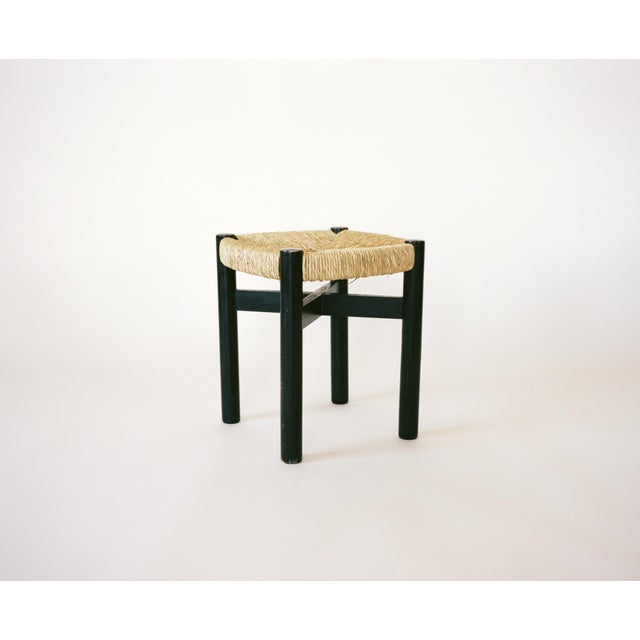 1940s Charlotte Perriand Set of Four Stools C. 1948 For Sale - Image 5 of 8