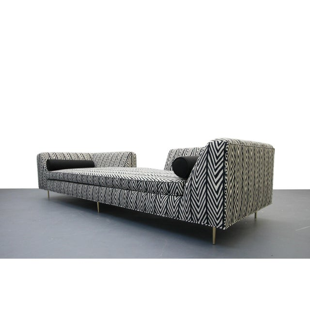 Mid-Century Modern Mid-Century European Open Back Sofa For Sale - Image 3 of 7