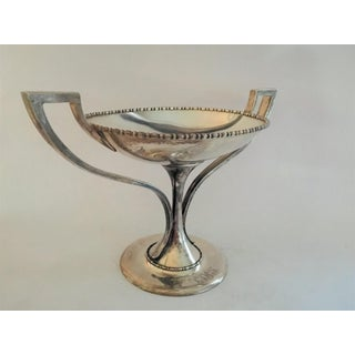 1930s Sterling Twin Handled Center Piece, 1.14 Lb of Silver Preview