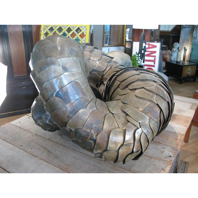 Ad Infinitum' Sculpture by Artist Joseph Kurhajec For Sale In New York - Image 6 of 11