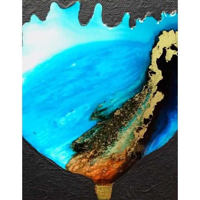 """World Bloom"" Original Acrylic Painting - Image 3 of 3"