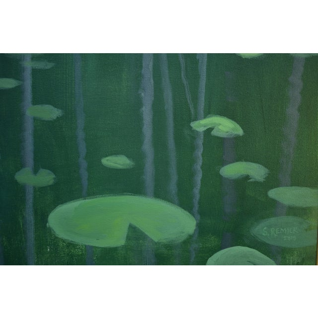 """Canvas """"Awestruck"""", Contemporary Large (60"""" X 48"""") Painting by Stephen Remick For Sale - Image 7 of 13"""
