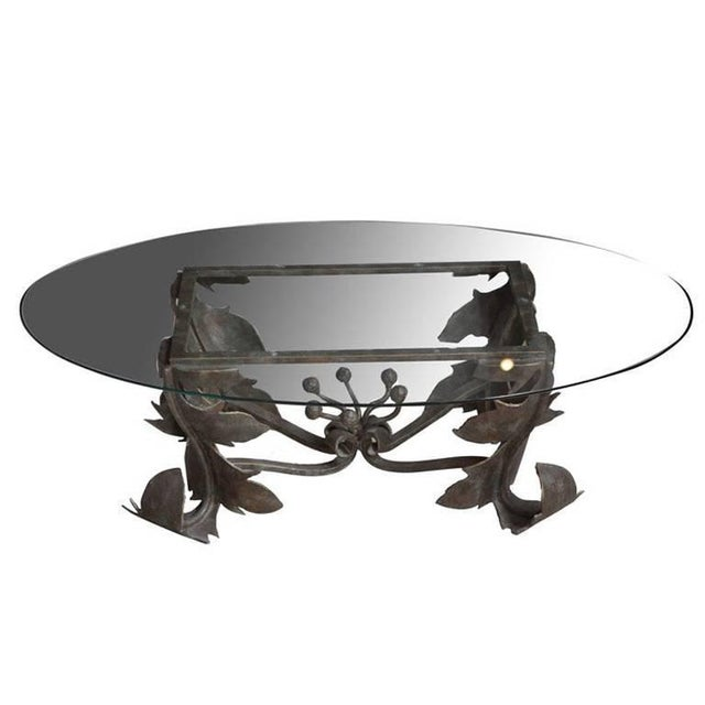 Hand-Forged Low Table For Sale - Image 10 of 10