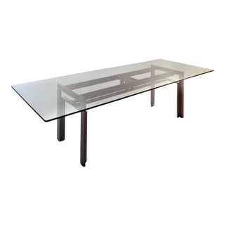 Carlo Scarpa for Simon International 'Doge' Glass Dining Table For Sale