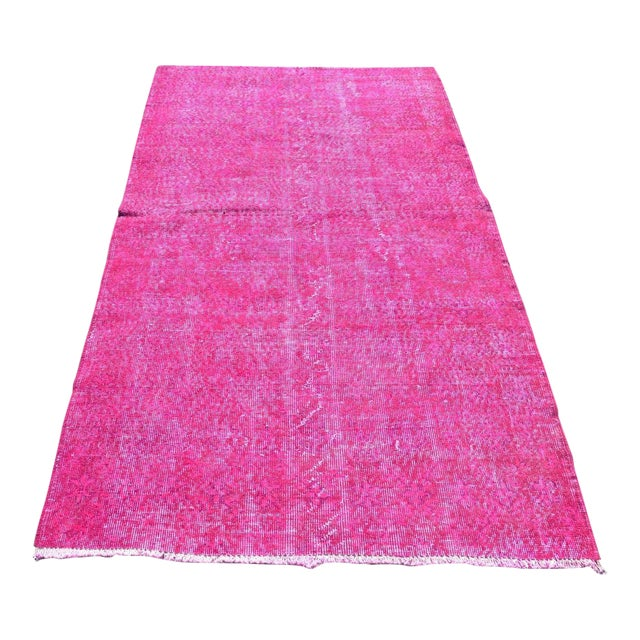 Turkish Floor Rug- 3′10″ × 6′11″ - Image 1 of 6
