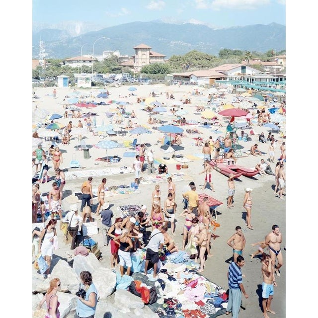 Massimo Vitali (Italy, 1944) MadiMa Ragnodoro, Italy Lithograph C.1990 For Sale In San Francisco - Image 6 of 6