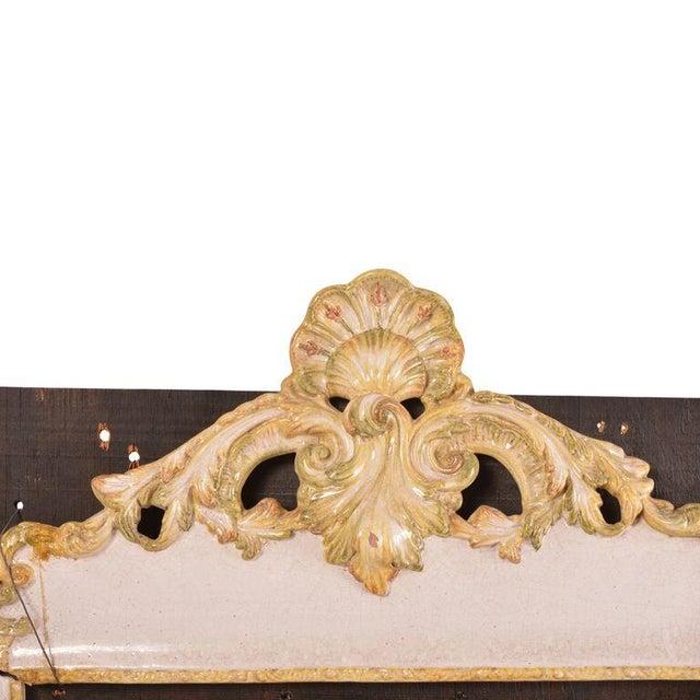 Baroque Signed Italian Ceramic Frame Tiles For Sale - Image 3 of 4