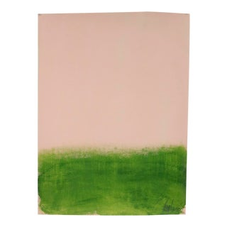 """""""Pink and Green"""", Original Painting by Filippo Ioco For Sale"""