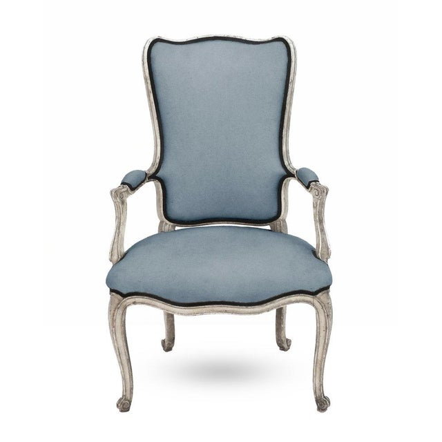 Turquoise Beistegui Armchair For Sale - Image 8 of 8