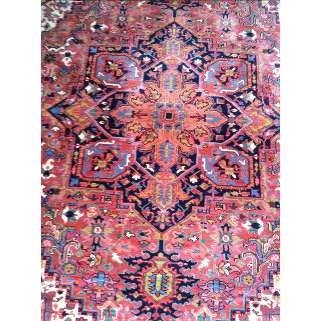 """Oriental Persian Wool Rug - 8'8"""" X 12' - Image 7 of 10"""