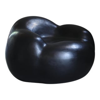 Cloud Chair - Black Lacquer For Sale