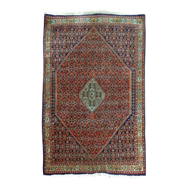 Vintage Persian Bidjar Rug - 3'9'' x 5'7'' For Sale