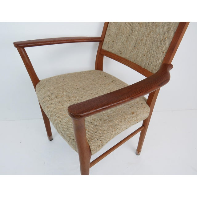 1960s Sculptural Mid-Century Modern Danish Teak Dining Chairs - Set of 4 For Sale - Image 11 of 13