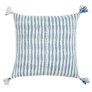 Faded Indigo Stripe Antigua Pillow