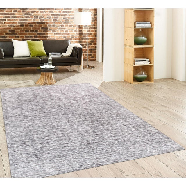 Contemporary Pasargad Texture Transitiona Polyester & Cotton Rug - 5' X 8' For Sale - Image 3 of 3