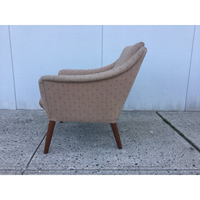 Vintage Danish Modern Lounge Chairs - A Pair - Image 7 of 11