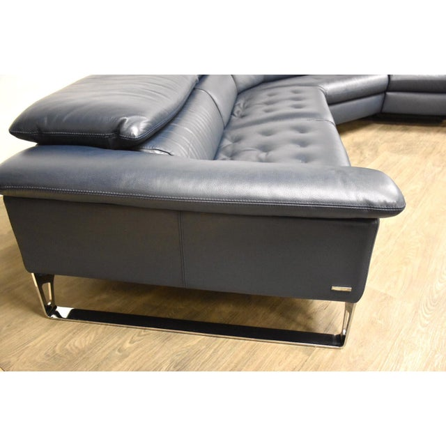 "Roche Bobois Roche Bobois ""Cinetique"" Reclining Modular Sofa For Sale - Image 4 of 13"