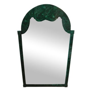 Italian Faux Malachite Mirror