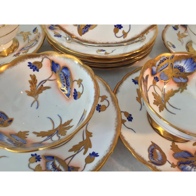 1940s Royal Stafford Tea and Dessert - Set of 12 For Sale In Tampa - Image 6 of 8