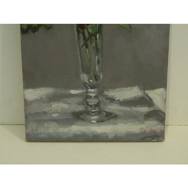 """Flowering Vase"" Original by Painting McDuff For Sale In Pittsburgh - Image 6 of 10"