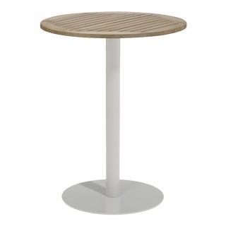 """32"""" Round Outdoor Bar Table, Vintage For Sale"""