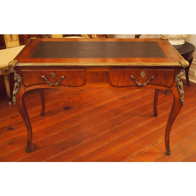 Hollywood Regency Regence Style Writing Table For Sale - Image 3 of 9