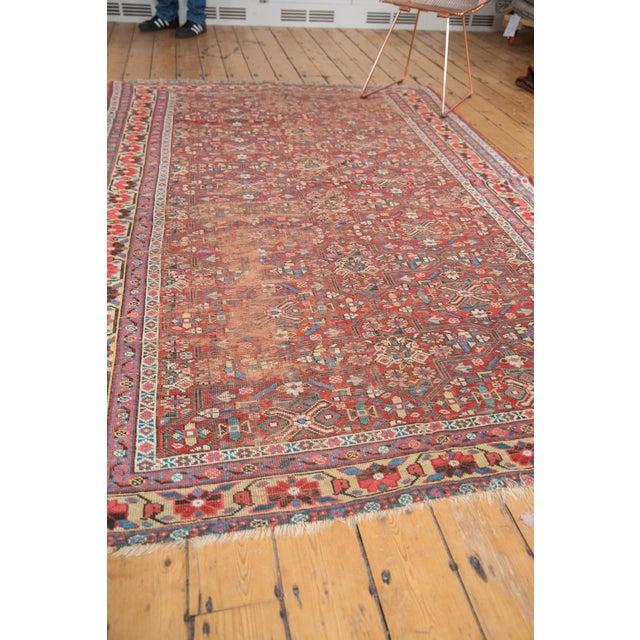 """Antique Kurdish Carpet - 5'10"""" x 8'1"""" For Sale - Image 12 of 13"""