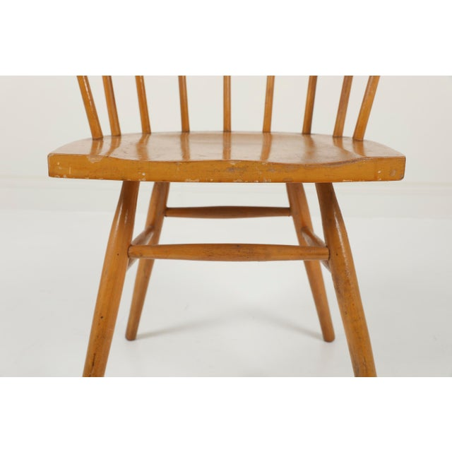 Brown 1940s Vintage George Nakashima for Knoll Straight Chair For Sale - Image 8 of 11