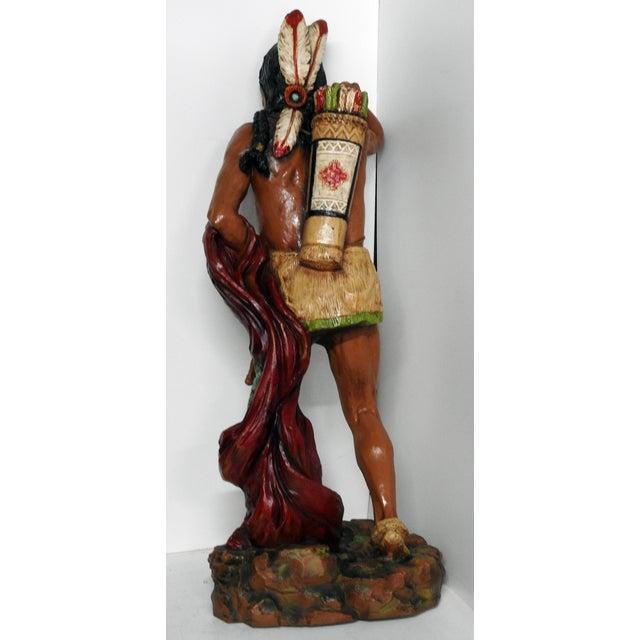 Fiberglass Cigar Store Indian For Sale In Philadelphia - Image 6 of 7