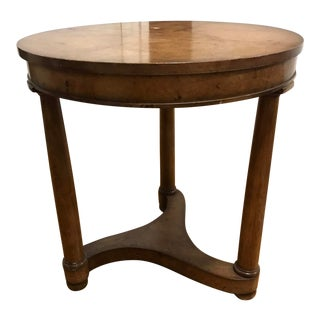 1950s Biedermeir Style Side Table For Sale