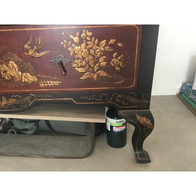 Chinoiserie Cabinet For Sale - Image 9 of 12