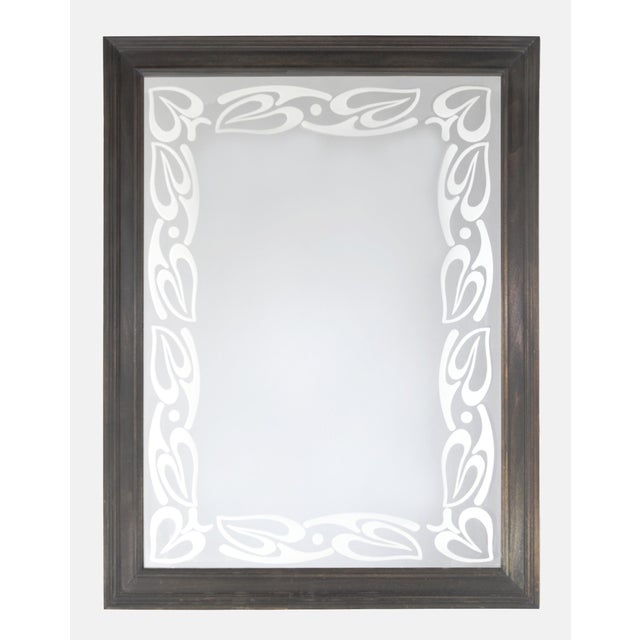 2000 - 2009 Art Nouveau Style Mirror by Babette Holland Design For Sale - Image 5 of 5