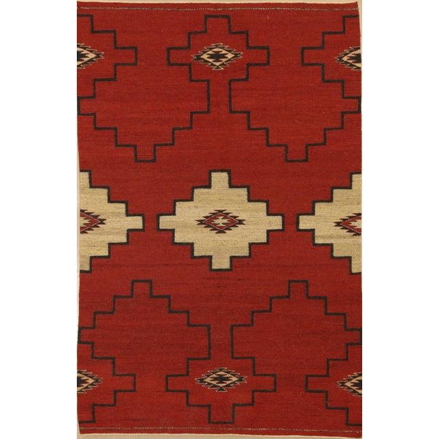 "Navajo Inspired Rug-4' X 6'1"" For Sale In Phoenix - Image 6 of 6"