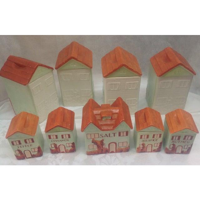 Vintage Mepco Ceramic Jars - Set of 9 - Image 5 of 5
