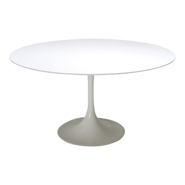 "1970s Eero Saarinen ""Tulip"" Dining Table for Knoll For Sale"
