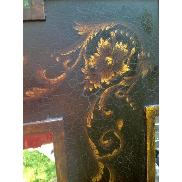 Design Rectangular Black / Green Mirrors For Sale - Image 9 of 13