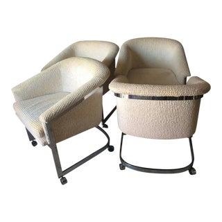 Milo Baughman Chrome DIA Club Chair - Set of 4 For Sale