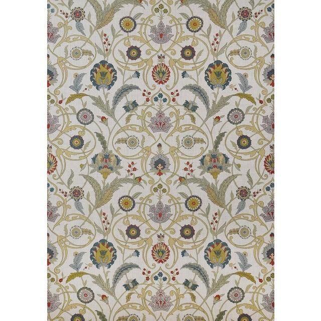 "Lewis & Wood Ipek Damask Pugin Extra Wide 52"" Damask Wallpaper - 1 Yard For Sale - Image 4 of 5"
