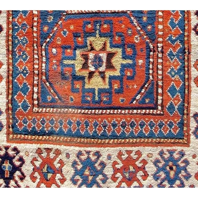 Caucasian Kazak Rug For Sale - Image 4 of 8