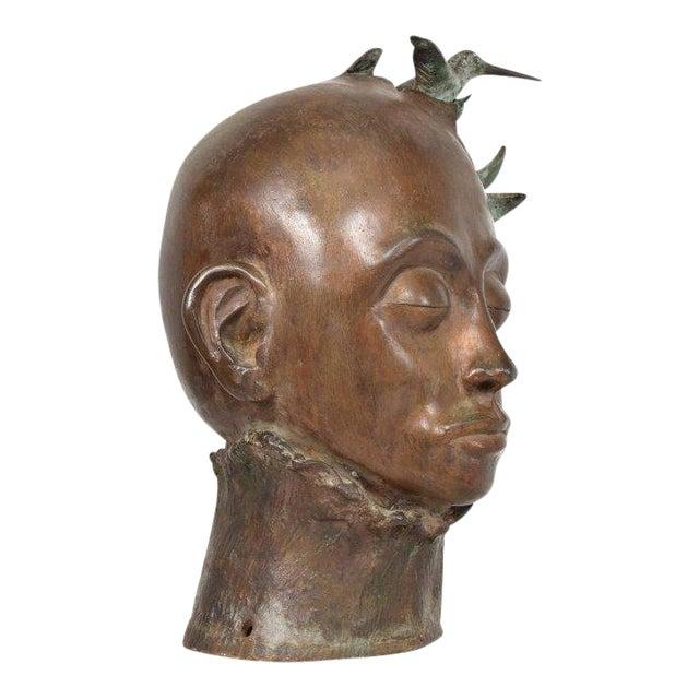 Surrealist Bronze Sculpture, Mexico, 1960s For Sale
