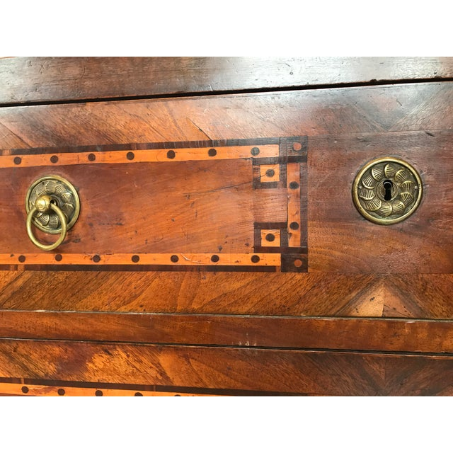 18th-c. French Louis XVI Inlaid Commode For Sale In Atlanta - Image 6 of 9