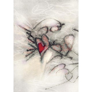 """Contemporary """"Fairy Heart"""" Print For Sale"""