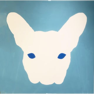 Glossy Frenchie Contemporary Painting For Sale