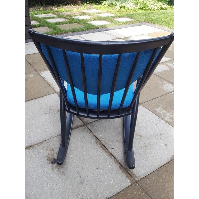 Danish Modern 1960s Vintage Frank Reenskaug Danish Modern Bramin Rocking Chair For Sale - Image 3 of 8