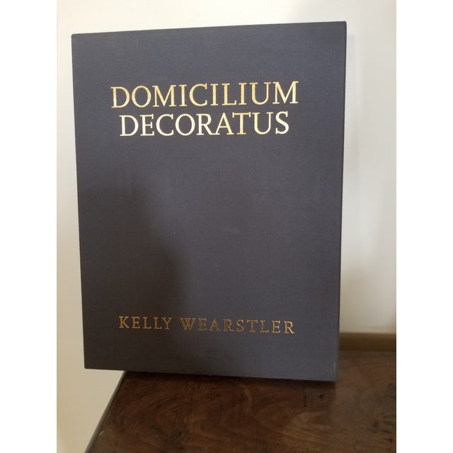 Blue Boxed and Signed Domicilium Decoratus For Sale - Image 8 of 8