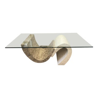 Two Color Maitland Smith Coffee Table