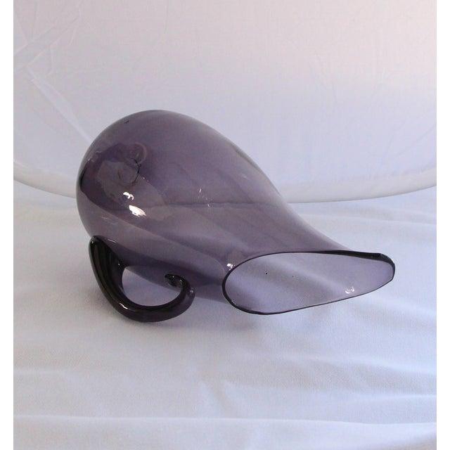 Blenko Amethyst Glass Pitcher - Image 4 of 4