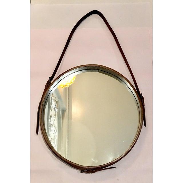 Lawson Fenning Leather Strap Mirror - Image 2 of 8